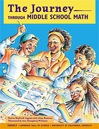 The Journey—Through Middle School Math Book Cover